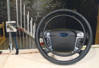 Modification voiture handicape pour avoir toutes les commandes au volant