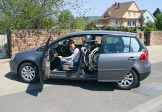kempf anneau acc l rateur ou cercle acc l rateur pour la conduite de voiture pour handicap. Black Bedroom Furniture Sets. Home Design Ideas